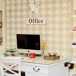 1 pequeno escritório e 4 dicas simples de organização